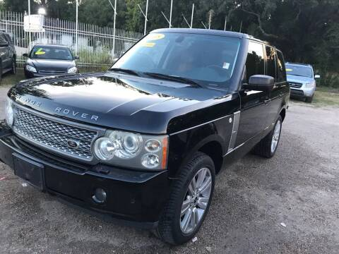 2008 Land Rover Range Rover for sale at Texas Luxury Auto in Houston TX