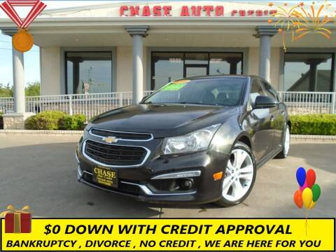 2015 Chevrolet Cruze for sale at Chase Auto Credit in Oklahoma City OK