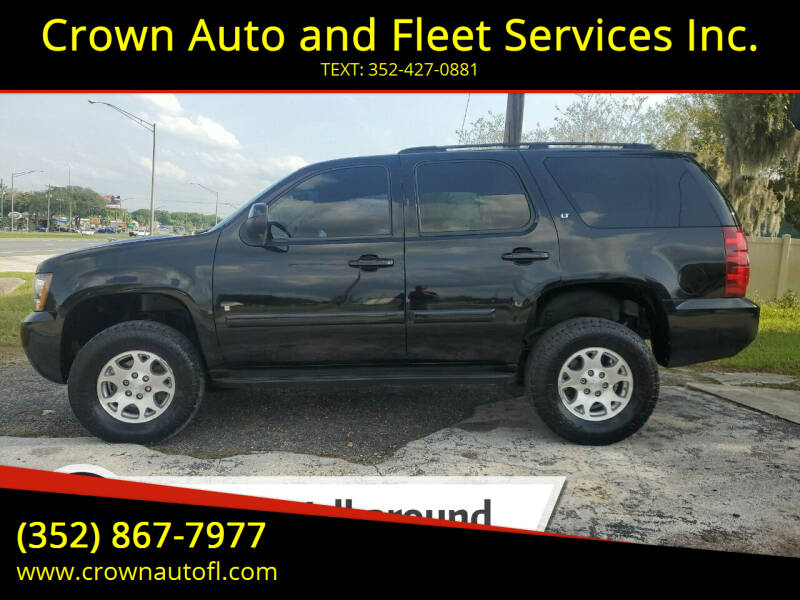 2007 Chevrolet Tahoe for sale at Crown Auto and Fleet Services Inc. in Ocala FL