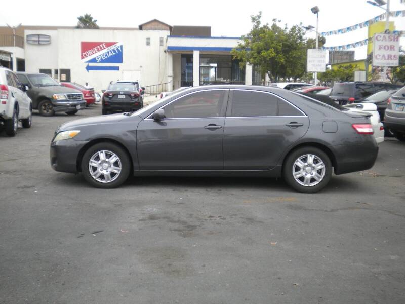 2011 Toyota Camry for sale at AUTO SELLERS INC in San Diego CA