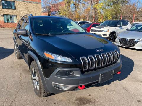 2017 Jeep Cherokee for sale at Car Source in Detroit MI
