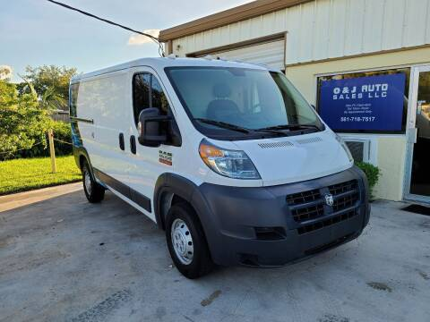 2017 RAM ProMaster Cargo for sale at O & J Auto Sales in Royal Palm Beach FL