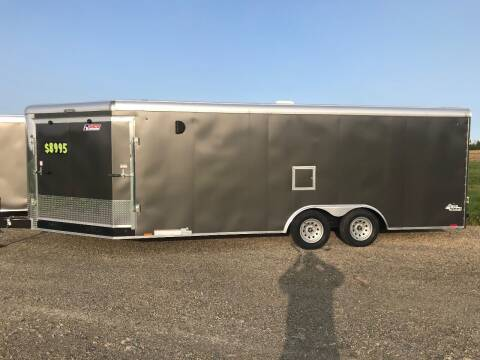2020 Pace American 8.5x25 V-Nose Dual Axle for sale at Forkey Auto & Trailer Sales in La Fargeville NY