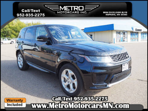 2020 Land Rover Range Rover Sport for sale at Metro Motorcars Inc in Hopkins MN