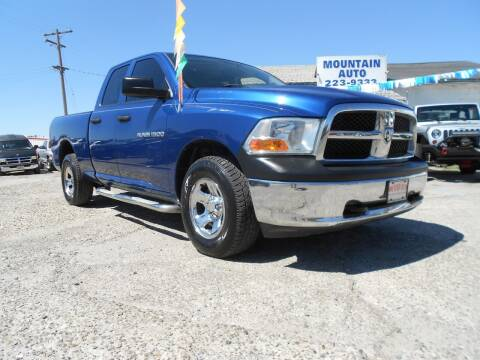 2011 RAM Ram Pickup 1500 for sale at Mountain Auto in Jackson CA