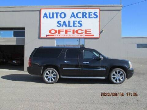 2011 GMC Yukon XL for sale at Auto Acres in Billings MT