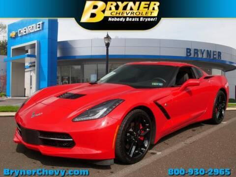 2018 Chevrolet Corvette for sale at BRYNER CHEVROLET in Jenkintown PA