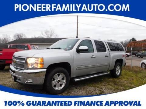 2012 Chevrolet Silverado 1500 for sale at Pioneer Family auto in Marietta OH