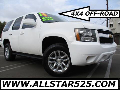 2014 Chevrolet Tahoe for sale at ALL STAR TRUCKS INC in Los Angeles CA