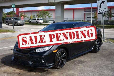 2019 Honda Civic for sale at ELITE MOTOR CARS OF MIAMI in Miami FL
