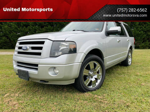 2010 Ford Expedition for sale at United Motorsports in Virginia Beach VA