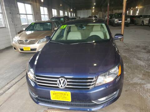 2015 Volkswagen Passat for sale at Brothers Used Cars Inc in Sioux City IA