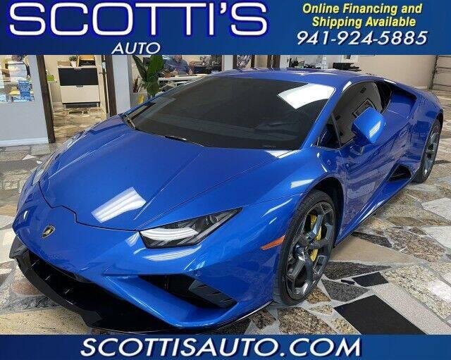 2021 Lamborghini Huracan for sale in Sarasota, FL