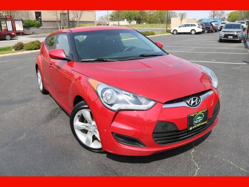 2015 Hyundai Veloster for sale at AUTO POINT USED CARS in Rosedale MD