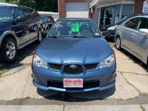 2007 Subaru Impreza for sale at Frank's Garage in Linden NJ