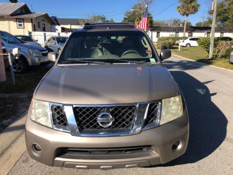 2008 Nissan Pathfinder for sale at Castagna Auto Sales LLC in Saint Augustine FL