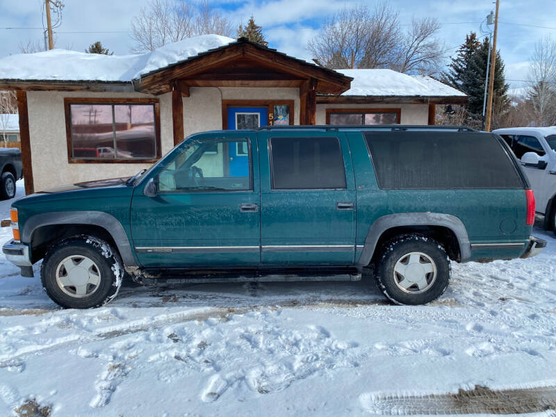 1998 Chevrolet Suburban for sale at Sawtooth Auto Sales in Hailey ID