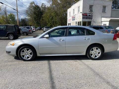 2011 Chevrolet Impala for sale at DND AUTO GROUP in Belvidere NJ