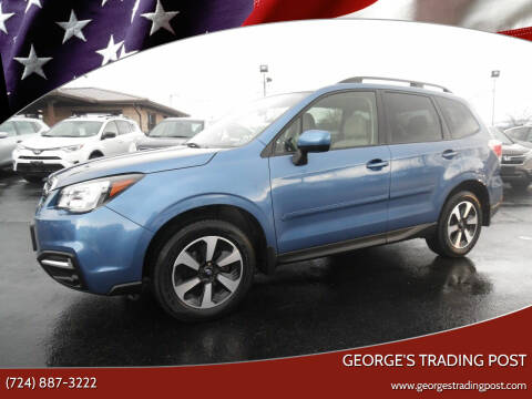 2018 Subaru Forester for sale at GEORGE'S TRADING POST in Scottdale PA