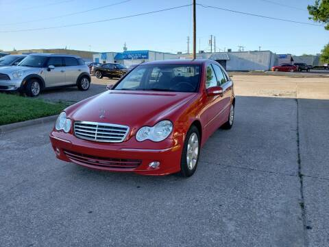 2005 Mercedes-Benz C-Class for sale at Image Auto Sales in Dallas TX