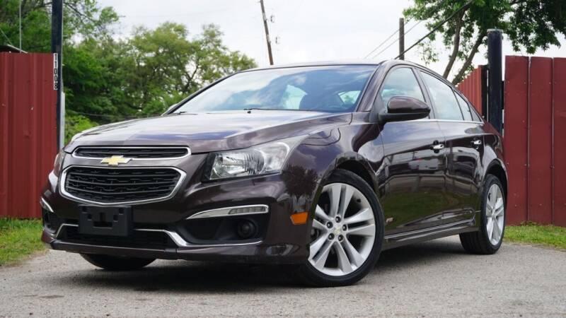2015 Chevrolet Cruze for sale at Hidalgo Motors Co in Houston TX