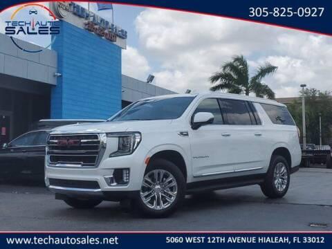 2021 GMC Yukon XL for sale at Tech Auto Sales in Hialeah FL