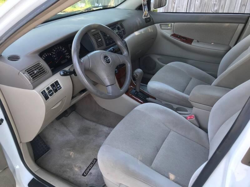 2008 Toyota Corolla LE 4dr Sedan 4A - Charlotte NC
