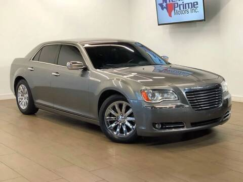 2012 Chrysler 300 for sale at Texas Prime Motors in Houston TX