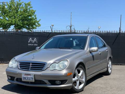 2005 Mercedes-Benz C-Class for sale at AutoAffari LLC in Sacramento CA