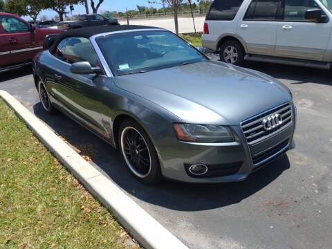 2012 Audi A5 for sale at LAND & SEA BROKERS INC in Pompano Beach FL
