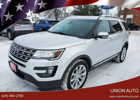 2016 Ford Explorer for sale at Union Auto in Union IA