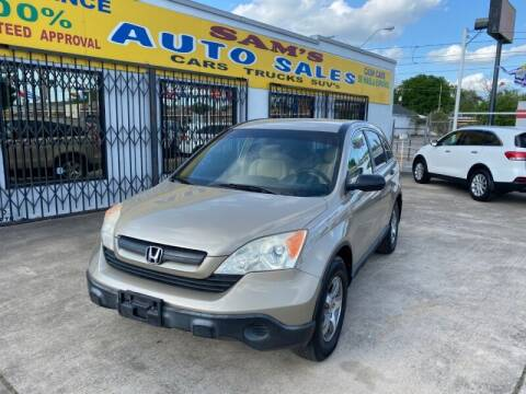 2007 Honda CR-V for sale at Sam's Auto Sales in Houston TX