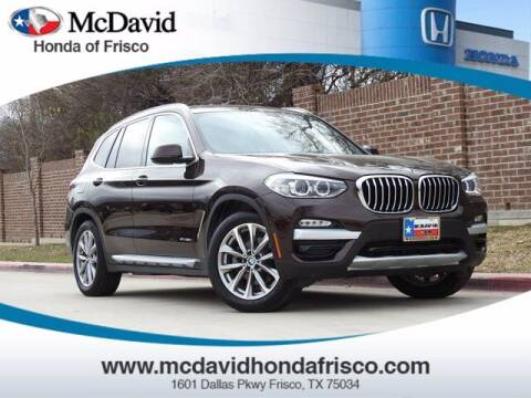 2018 BMW X3 for sale at DAVID McDAVID HONDA OF IRVING in Irving TX