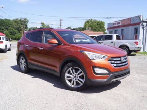 2013 Hyundai Santa Fe Sport for sale at Auto Mart in Kannapolis NC