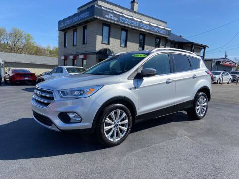 2017 Ford Escape for sale at Sisson Pre-Owned in Uniontown PA