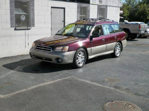2001 Subaru Outback for sale at Credit Connection Auto Sales Inc. CARLISLE in Carlisle PA