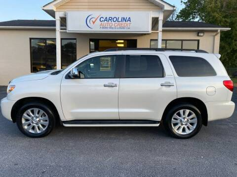 2017 Toyota Sequoia for sale at Carolina Auto Credit in Youngsville NC