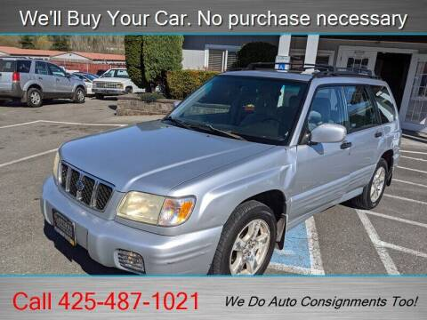2002 Subaru Forester for sale at Platinum Autos in Woodinville WA
