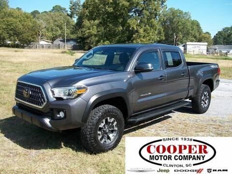2018 Toyota Tacoma for sale at Cooper Motor Company in Clinton SC
