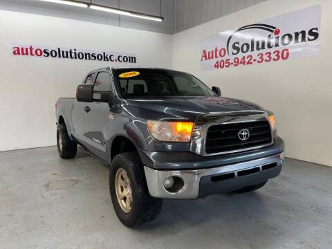 2009 Toyota Tundra for sale at Auto Solutions in Warr Acres OK