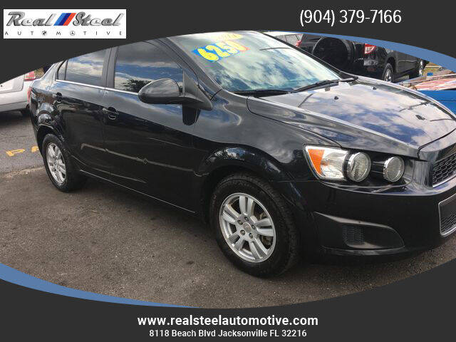 2014 Chevrolet Sonic for sale at Real Steel Automotive in Jacksonville FL