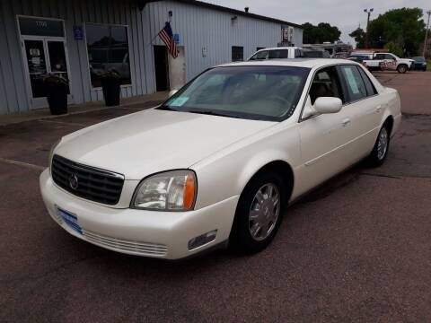 2003 Cadillac DeVille for sale at Dakota Cars and Credit LLC in Sioux Falls SD