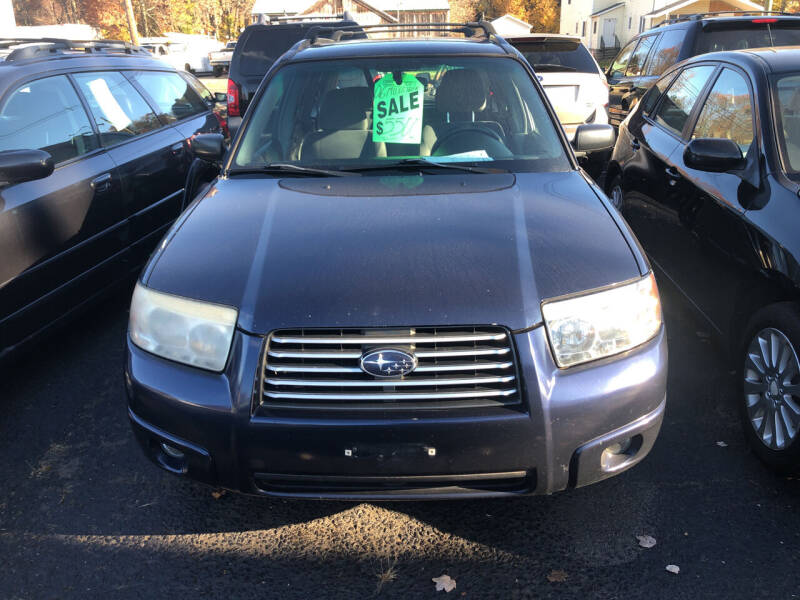 2006 Subaru Forester for sale at Whiting Motors in Plainville CT
