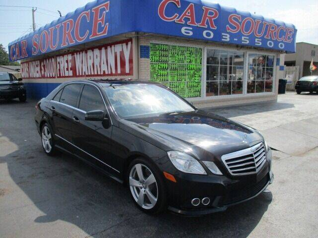2010 Mercedes-Benz E-Class for sale at CAR SOURCE OKC in Oklahoma City OK