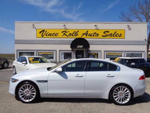 2017 Jaguar XE for sale at Vince Kolb Auto Sales in Lake Ozark MO