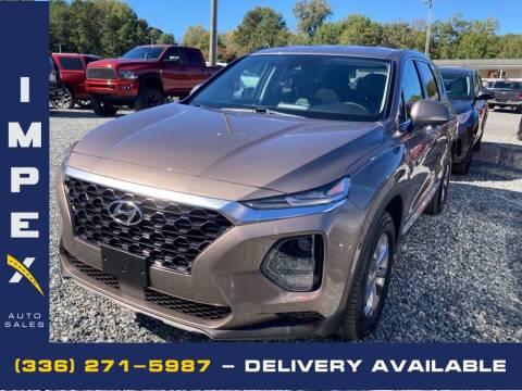 2019 Hyundai Santa Fe for sale at Impex Auto Sales in Greensboro NC
