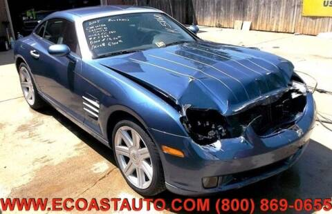 2005 Chrysler Crossfire for sale at East Coast Auto Source Inc. in Bedford VA