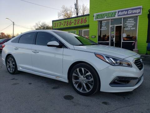 2015 Hyundai Sonata for sale at Empire Auto Group in Indianapolis IN