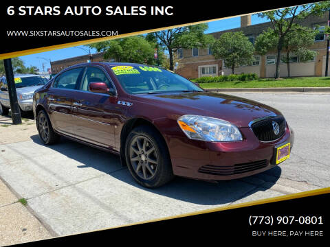 2006 Buick Lucerne for sale at 6 STARS AUTO SALES INC in Chicago IL