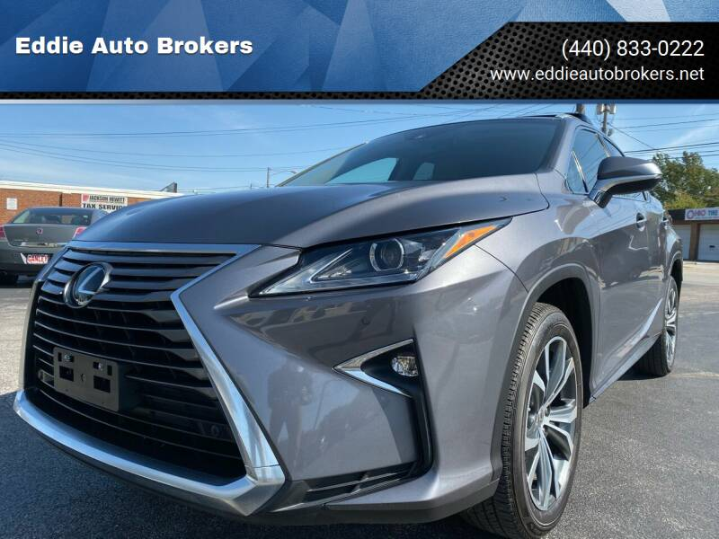 2017 Lexus RX 350 for sale at Eddie Auto Brokers in Willowick OH